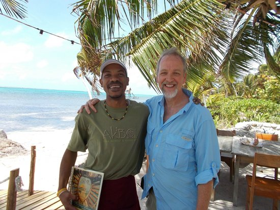 Ak'bol Yoga Retreat & Eco-Resort: Philip (left), will take care of you!