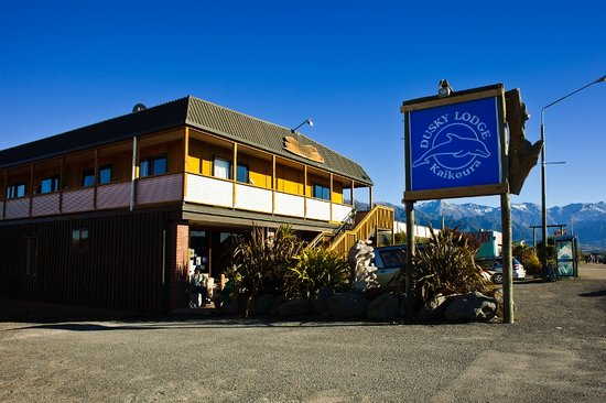 Dusky Lodge & Backpackers: Out Front