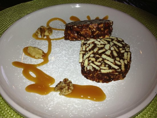 Buon Appetito: Chocolate salami! Something different but very good.