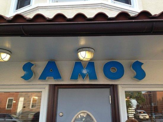 Samos Restaurant: Samos!