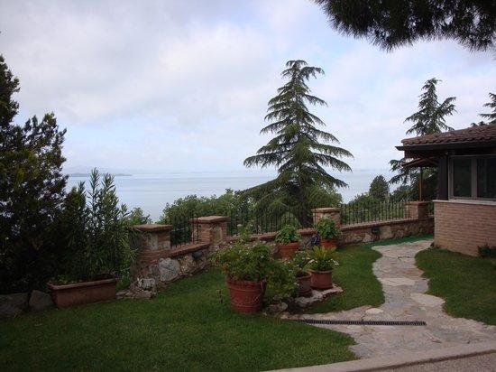 Villa Trasimeno: Villa surrounds