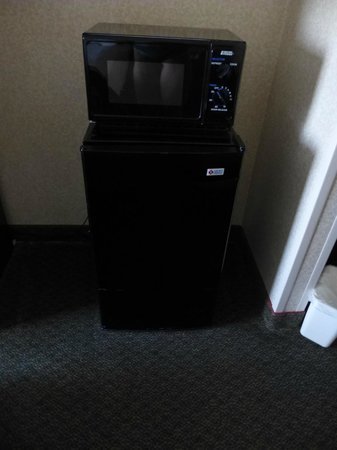 Best Western Springfield: microwave and minifridge