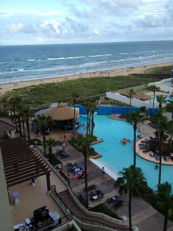 Pearl South Padre: The view from Balcony Room 728.