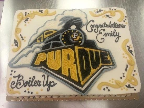 Broken Cookie Bakery & Coffeehouse: Awesome graduation cake from the BC