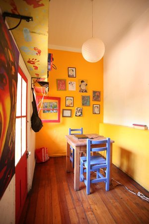 PataPata Hostel : comedor