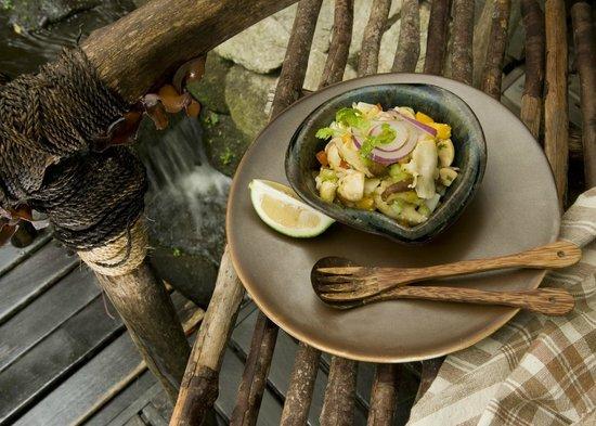 The Farm at San Benito: ALIVE! Cuisine - Mushroom Ceviche
