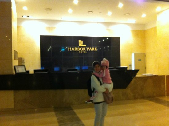 Harbor Park Hotel : In the hotel lobby