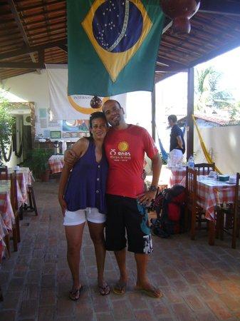 Jeri Brasil Hostel: Eu e o Ramis