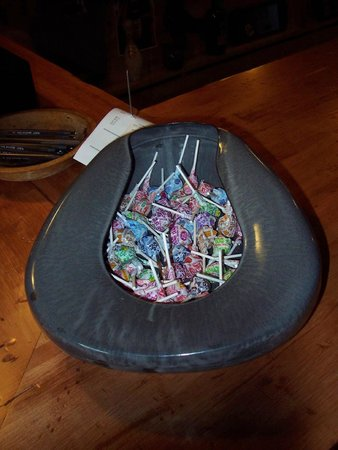 My Sister's Place: candy in bedpan