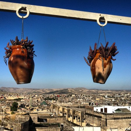 Riad Numero 9: The view of Fes