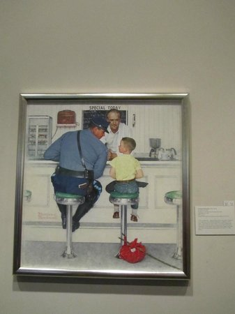 a written assignment on norman rockwell museum at stockbridge Buy online, view images and see past prices for norman rockwell saturday evening post painting of benjamin franklin entitled.