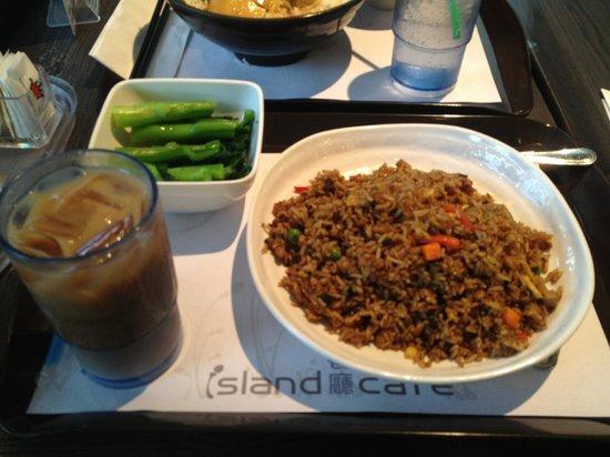 Island Cafe : 何かのチャーハン(忘れた)、日替わりメニュー