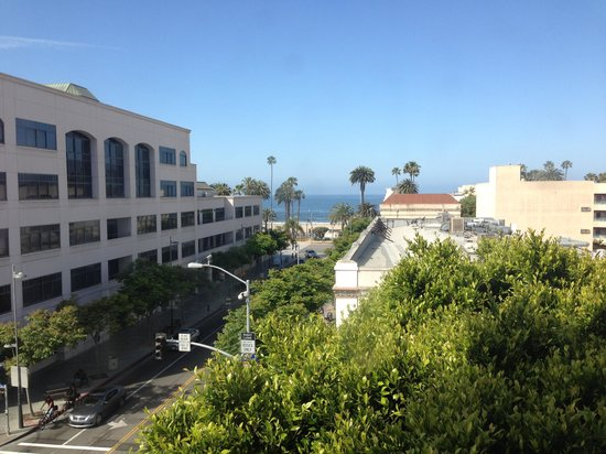 Hotel Carmel: View from the top corner room