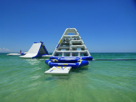 The Aqua Park: Beautiful day on the Gulf Coast