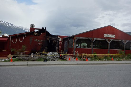 Skagway Fish Co.: Look forward to when they re-open  - great place to eat