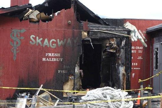 Skagway Fish Co.: Skagway Fish Company- closed during visit June 5, 2013