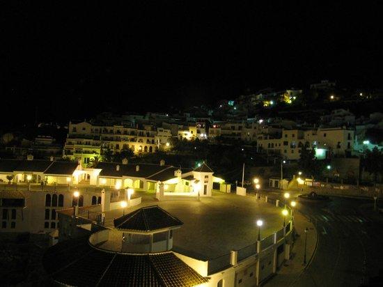 Hotel Villa Frigiliana: バルコニーから見える夜景2
