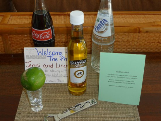 The Phoenix Resort: Welcome treats!