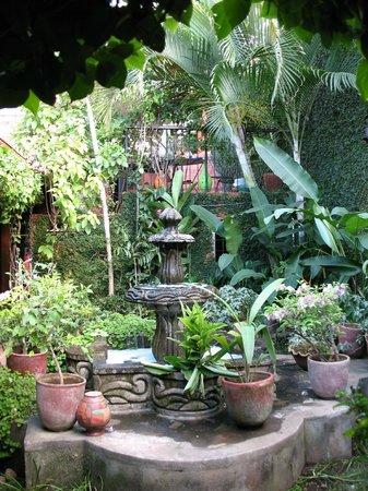 Posada Fuente Castalia: Courtyard
