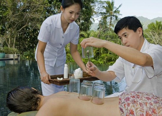 The Farm at San Benito: Acupuncture and Moxa