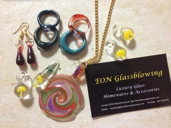 EON Glassblowing: Look what we made! ☮