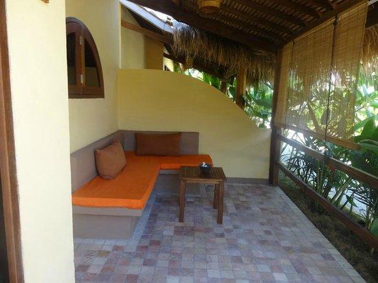 Laguna Gili Beach Resort: Terraza de la habitación
