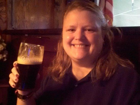 Culhane's Irish Pub: My lovely Wife, Gwen