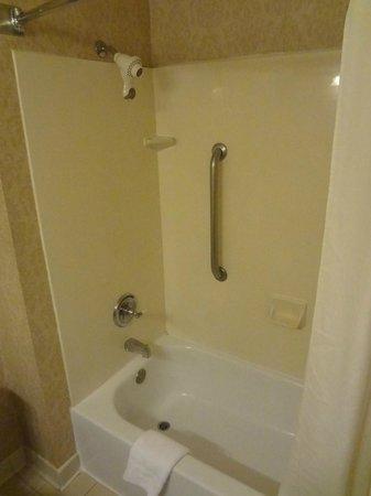 Wingate by Wyndham Dallas/Las Colinas: Tub was standard. Nothing special.