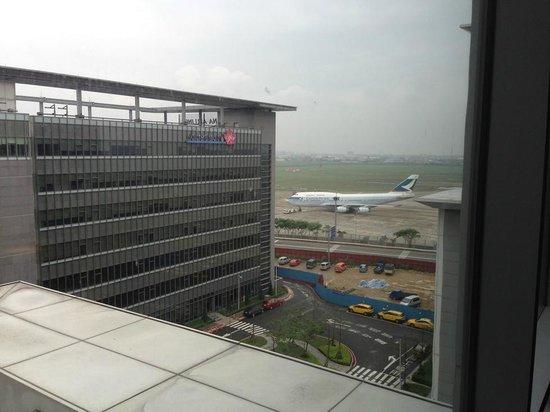 Hotel Novotel Taipei Taoyuan International Airport: View from the room