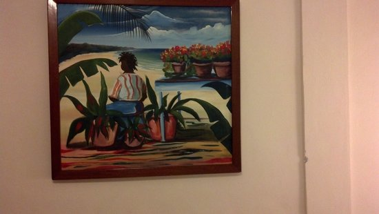 SunBreeze Hotel: Example of the  Oil Paintings in Sunbreeze Guestrooms