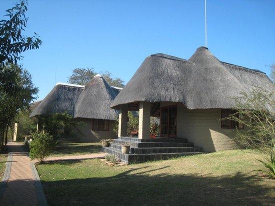 Arathusa Safari Lodge: a view of each individual hut