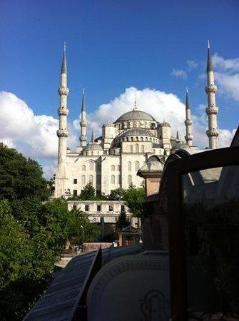 Sultanahmet Palace Hotel: Blick vom Balkon