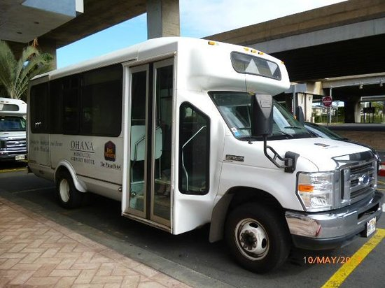 Best Western The Plaza Hotel: Best Western Shuttle Bus