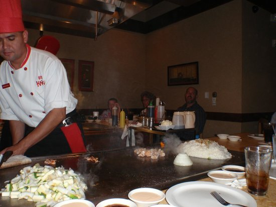 Kanki Japanese House of Steaks: Prepping