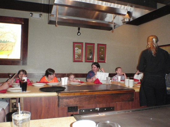 Kanki Japanese House of Steaks: Our second table