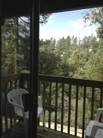 Idyllwild Bunkhouse: Balcony