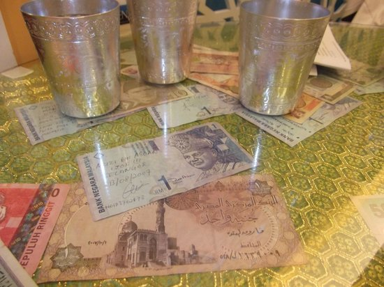 Money That Left By Customer All Around The World Including