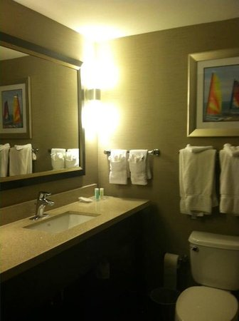 Comfort Suites Miami Airport North: nicely updated and sleek bathroom