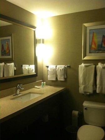 كومفرت سويتس ميامي إيربورت نورث: nicely updated and sleek bathroom