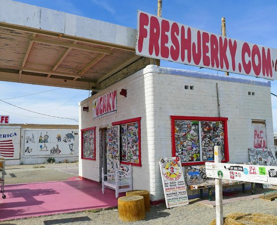 Gus's Fresh Jerky: Hard to miss this place!