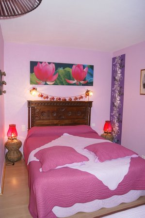 """Chambres d'hotes de Sainte-Anne : chambre """"bretonne"""""""