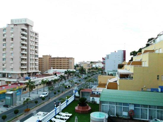 Hotel Princesa Solar: vistas desde la habitacion