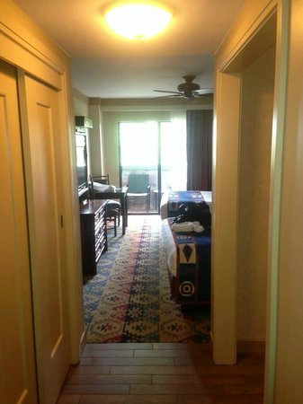 Disney's Wilderness Lodge: Hotel room