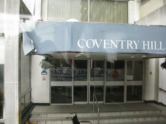 Coventry Hill Hotel: Front reception area.