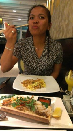Shang Thai : Bamboo filet fish is not so delicious