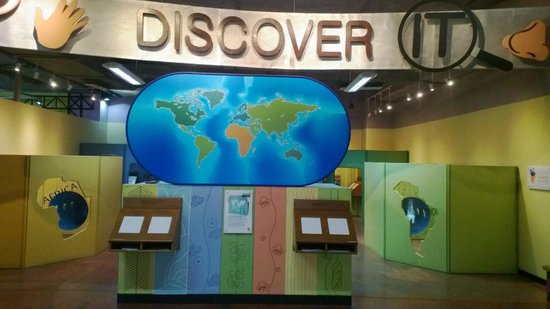 Stellar Children's Museum: Continents Area