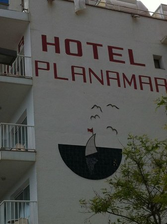 Hotel Planamar : outside