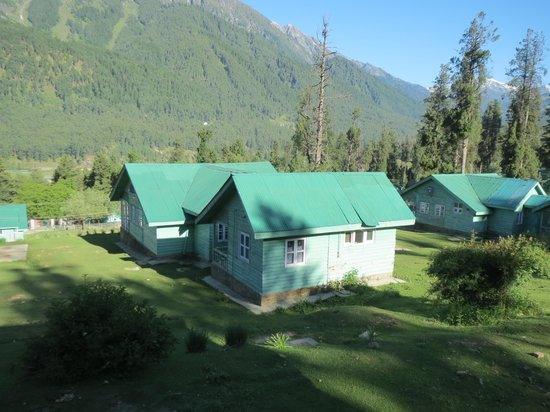 JKTDC Pahalgaon Huts: Excellent Location