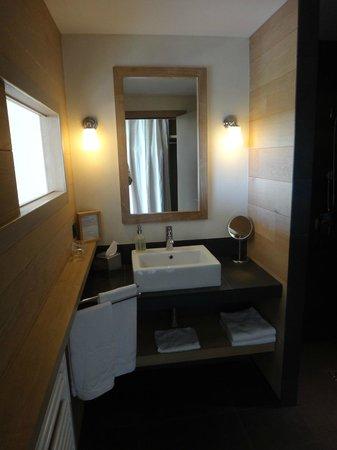 La Gree des Landes: la salle de bains