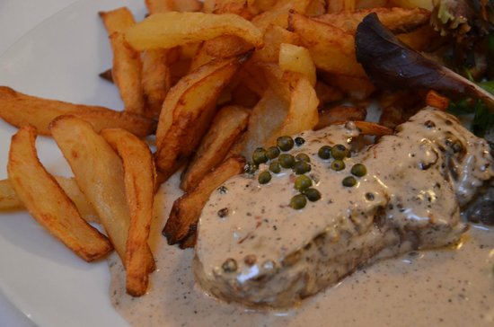 Le Julien: Steak frites